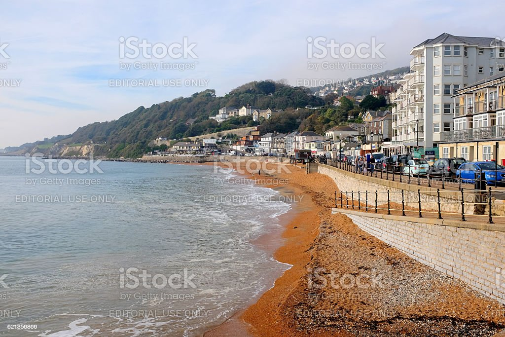 Ventnor seafront, Isle of Wight. stock photo