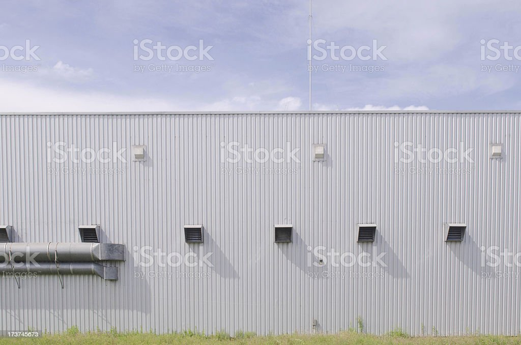 vents in the wall royalty-free stock photo