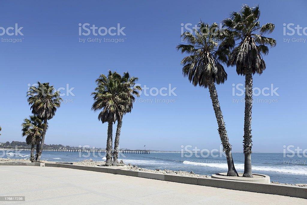 Ventura Beach Plaza royalty-free stock photo