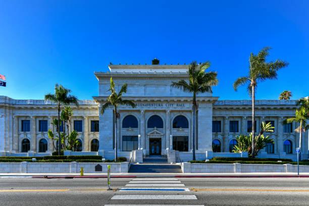 Ventura City Hall - California stock photo