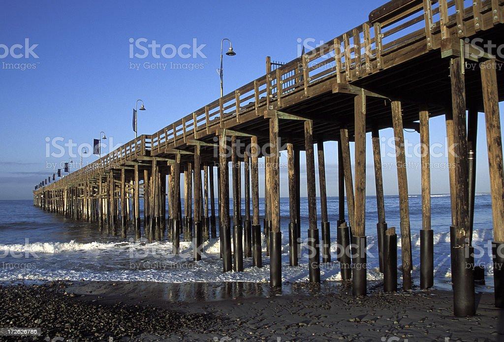 Ventura Pier royalty-free stock photo
