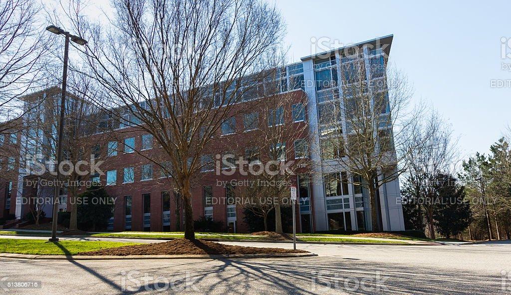 Venture IV at NCSU stock photo