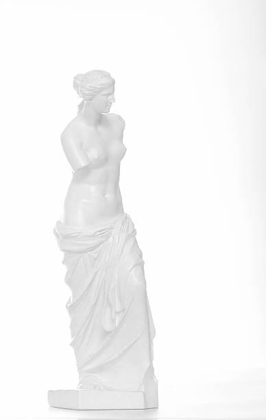 statue vénus de milo, de photocopie. high-key. - venus photos et images de collection