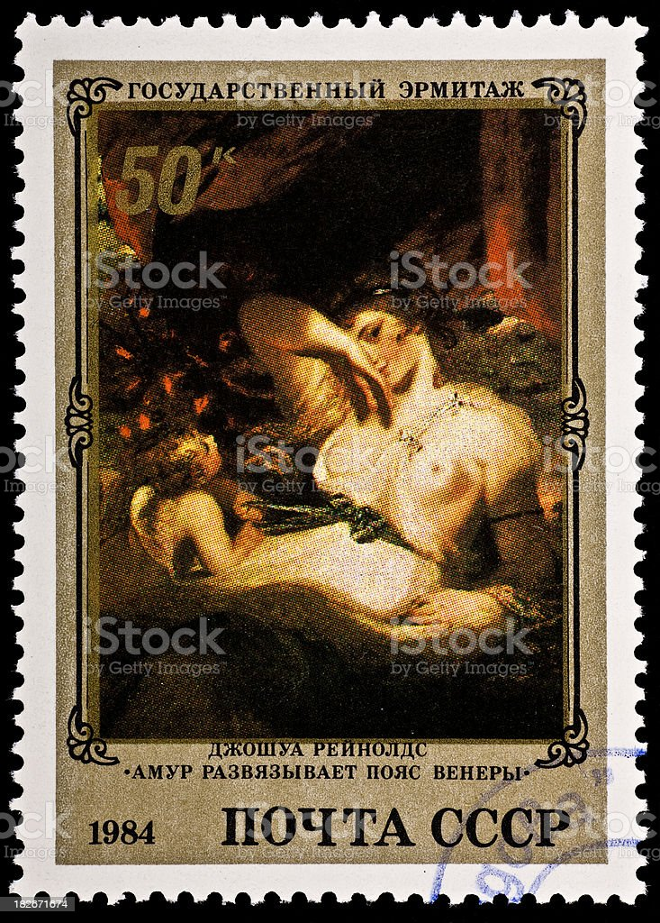 Venus .Joshua Reynolds Canvas stock photo