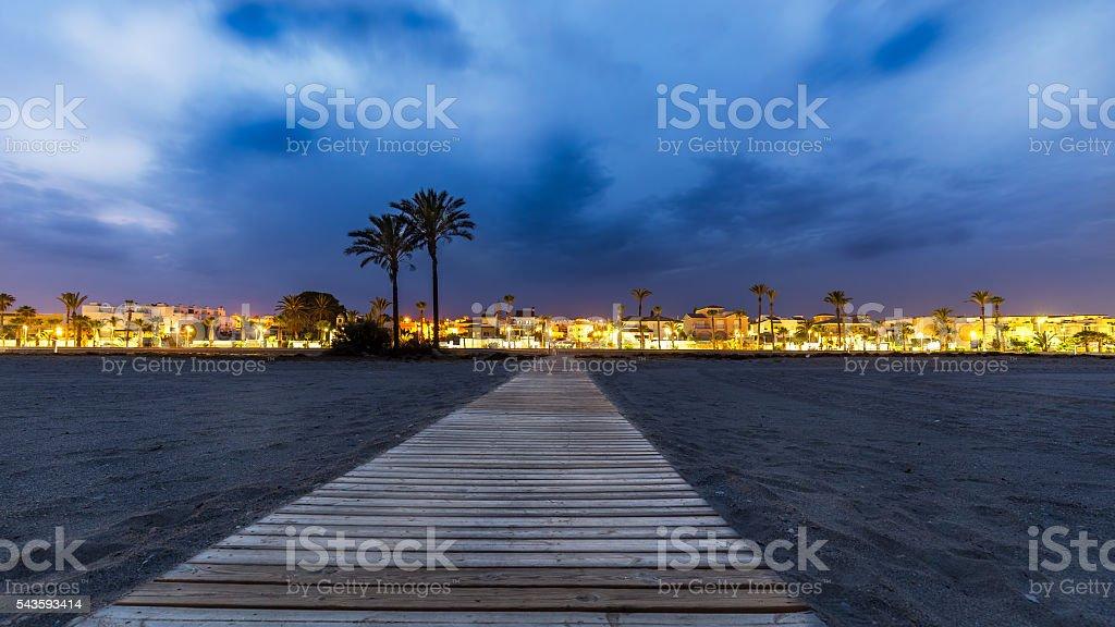 Vera beach stock photo