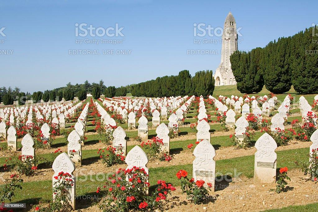 Verdun Muzułmańskich Cmentarz wojskowy, Francja – zdjęcie