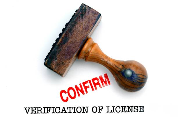 Prüfung der Lizenz – Foto