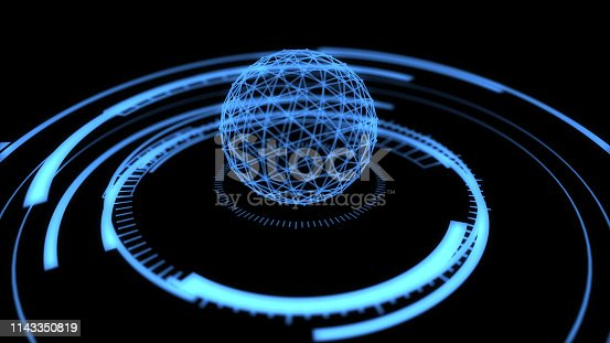istock Verifying the security of the connected global network 1143350819