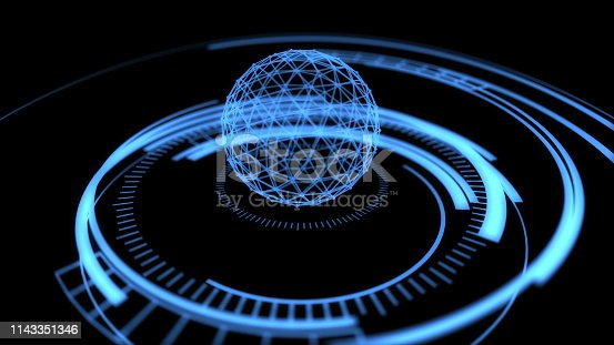 istock Verifying the security of the connected global network 1143351346