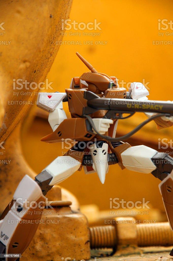 Veritech Warrior stock photo
