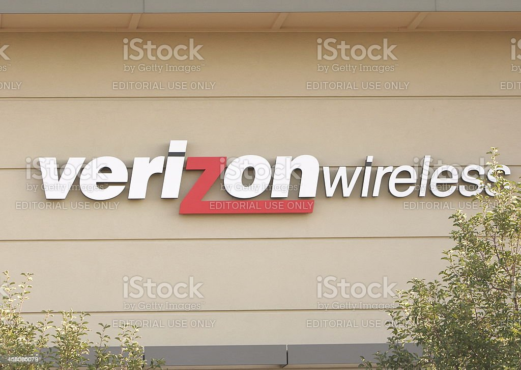 Verizon Communications stock photo