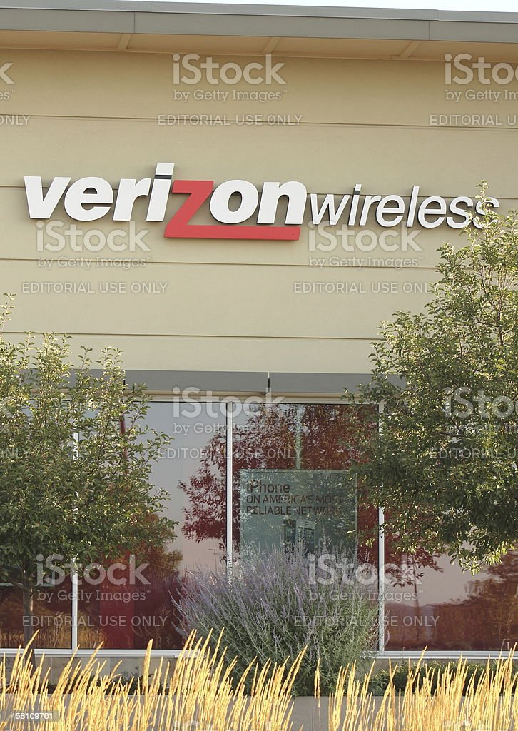 Verizon stock photo