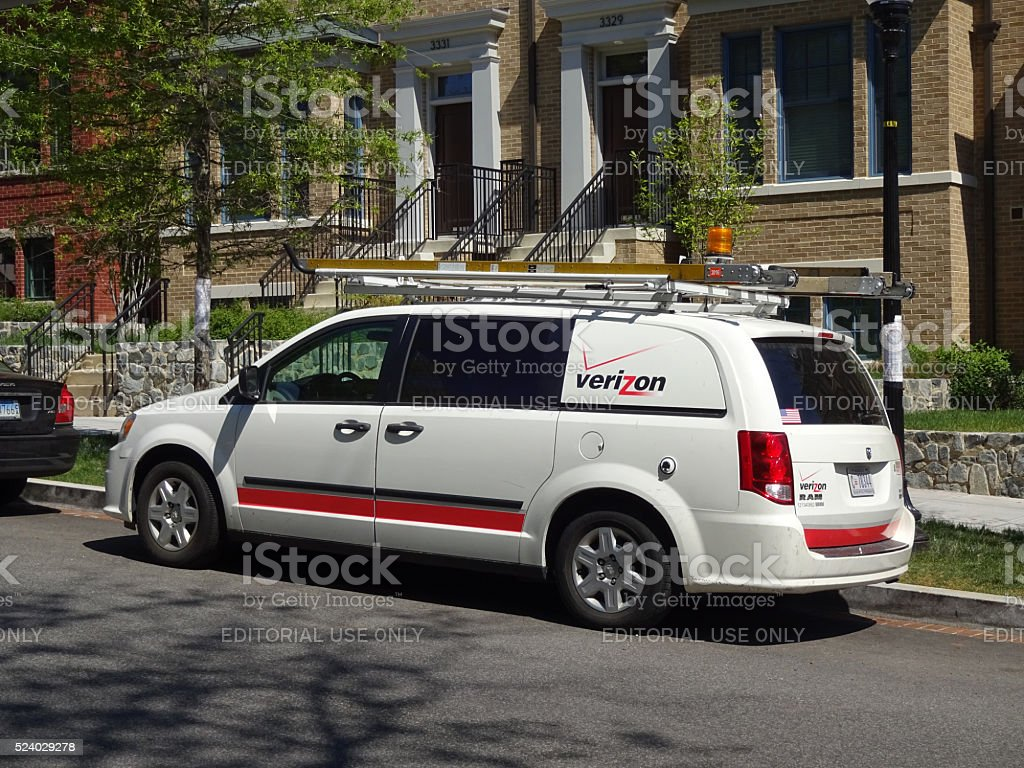 Verizon Service stock photo
