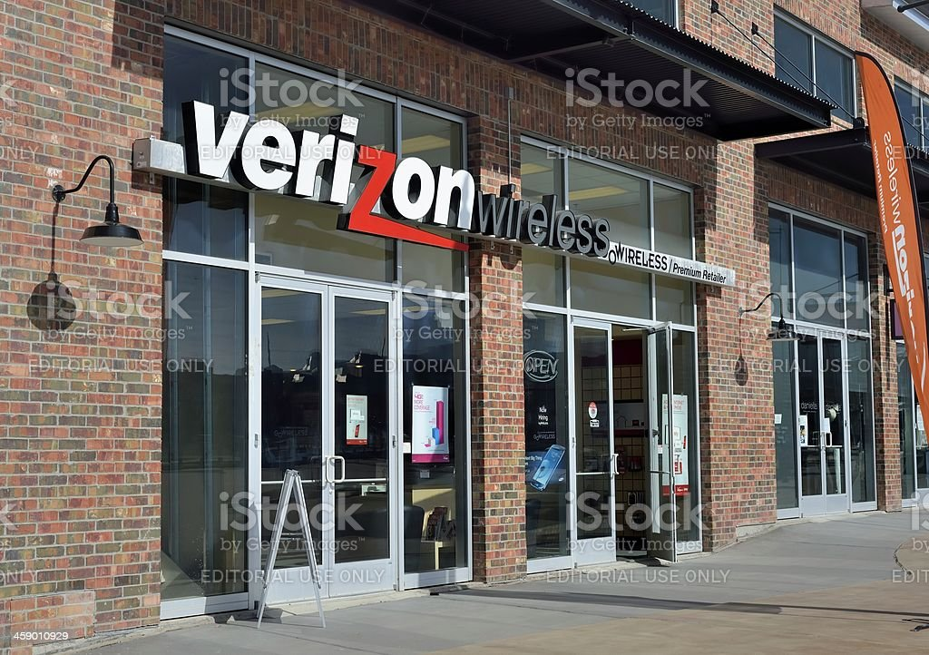 Verizon Wireless stock photo
