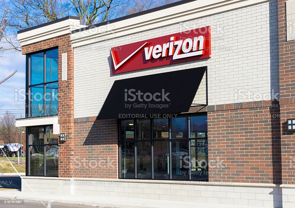 Verizon Wireless stock photo