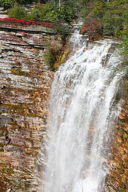 Verkeerderkill Falls, Shawangunks, Nueva York - foto de stock