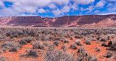 The Vermilion Cliffs mountain range in Arizona