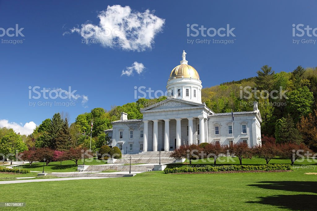 Vermont State House royalty-free stock photo