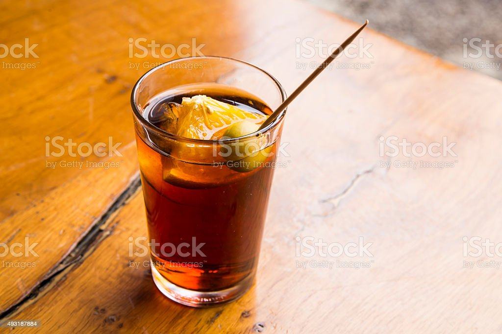 Vermouth stock photo