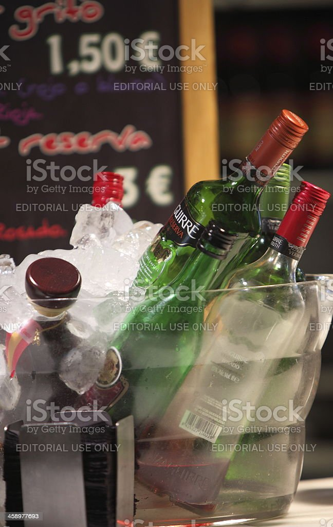 Vermouth Yzaguirre stock photo
