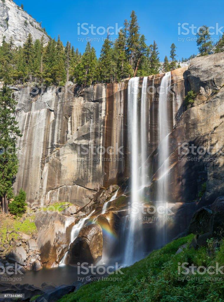 Vernal Falls stock photo