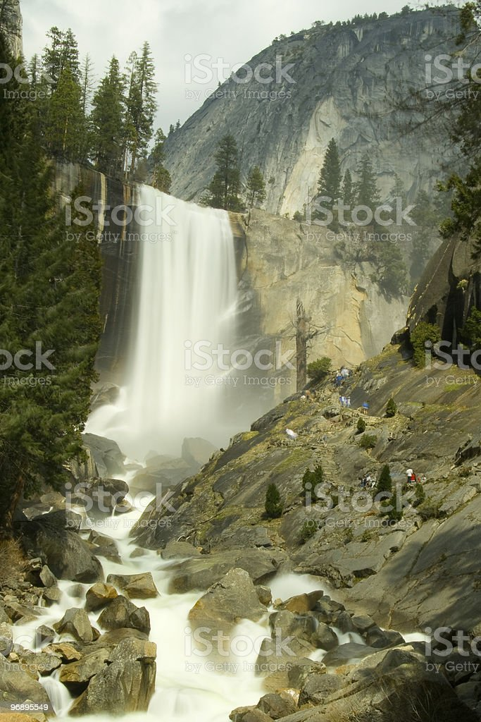 Vernal Falls royalty-free stock photo