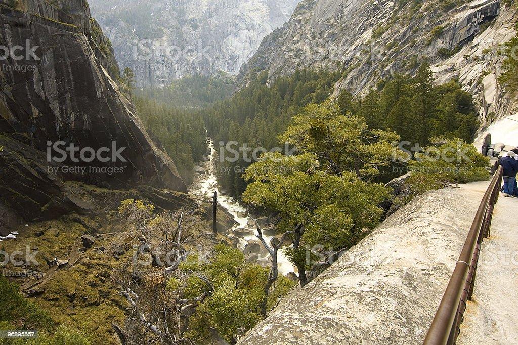 Vernal Falls royalty-free stock photo