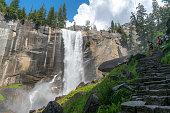 Vernal Falls Yosemite National Park, California