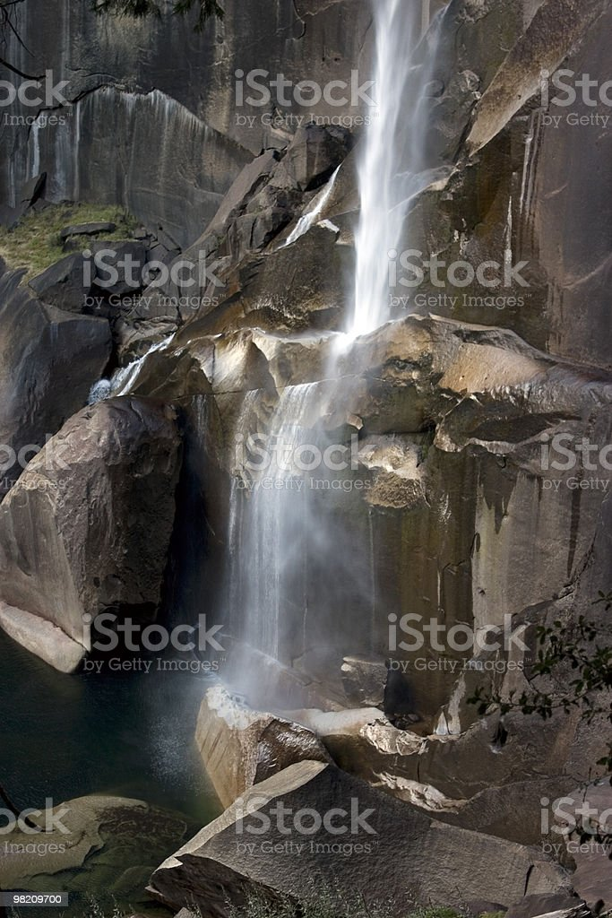Vernal Falls - Yosemite royalty-free stock photo