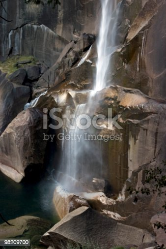 Vernal Falls Yosemite Stock Photo & More Pictures of Cliff