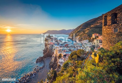 istock Vernazza at sunset, Cinque Terre National Park, Ligurian Riviera, Italy 638935928