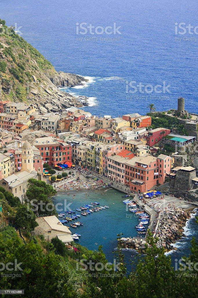 Vernazza, Cinque Terre stock photo