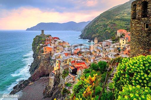 istock Vernazza in Cinque Terre, Liguria, Italy 690145492