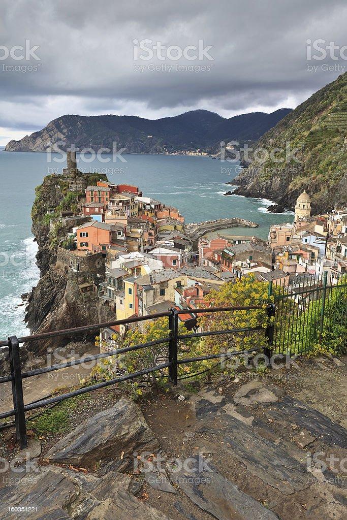 Vernazza, Itally royalty-free stock photo