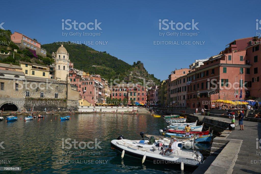 Vernazza Marina stock photo