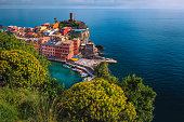 istock Vernazza village and flowery gardens, Cinque Terre, Italy 1269791185