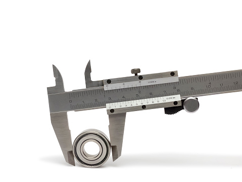 istock Vernier caliper with bearing 506590290