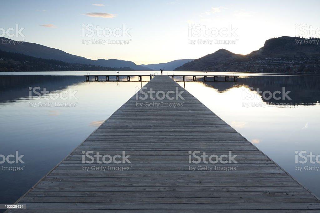 Vernon British Columbia stock photo