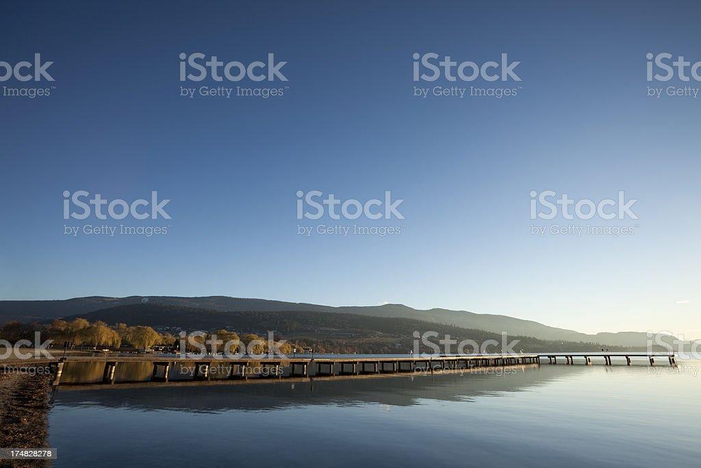 Vernon British Columbia royalty-free stock photo