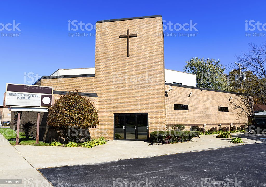 Vernon Park Church of God, Calumet Heights, Chicago royalty-free stock photo