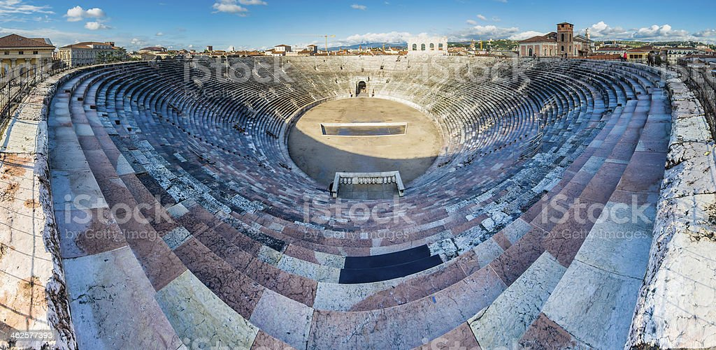 Amphitheater in Verona, Italien – Foto
