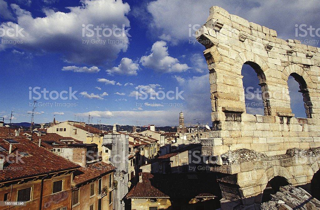 Arena di Verona e - foto stock