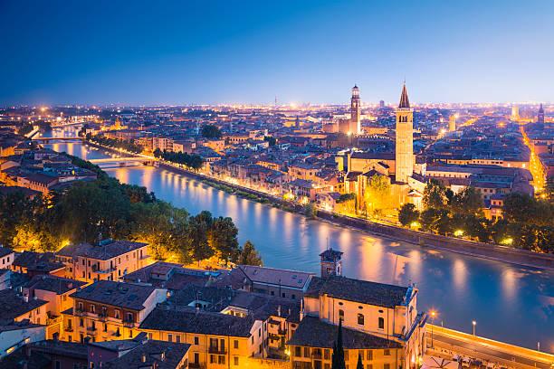 Verona in der Nacht – Foto