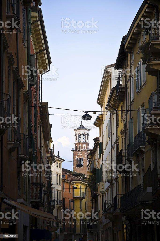 Verona city street royalty-free stock photo