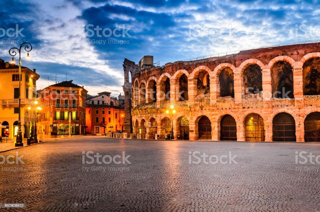 Verona, Italien - Arena Lizenzfreies stock-foto