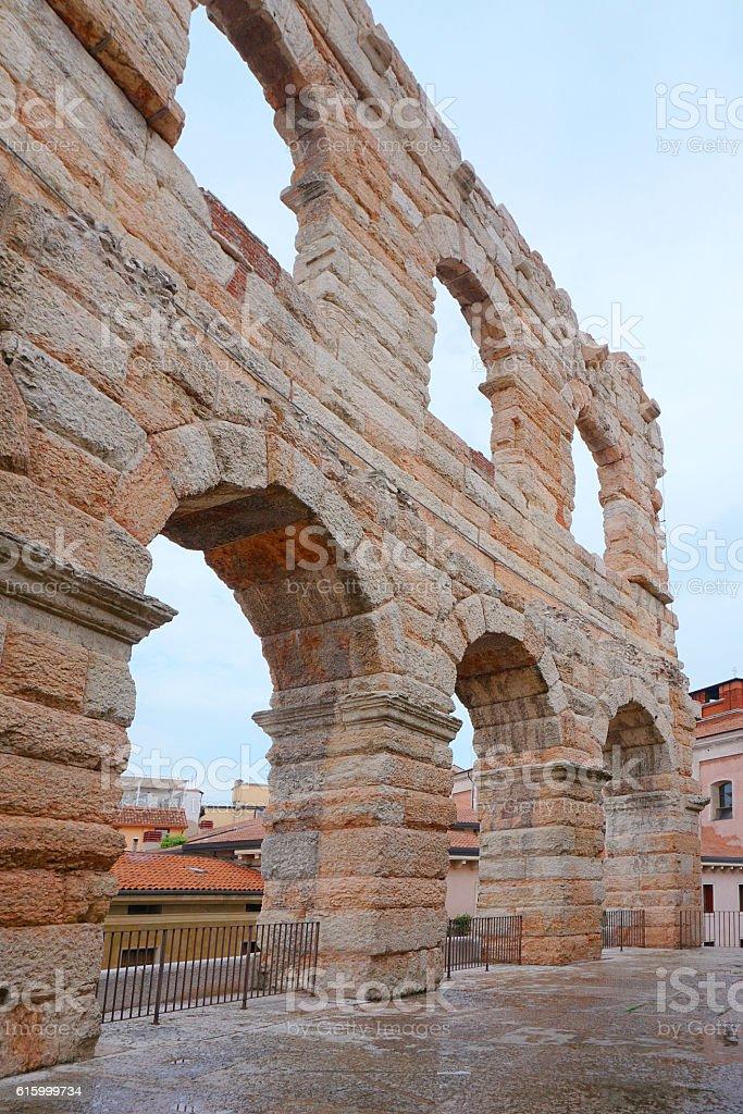 Verona roman colosseum - foto stock
