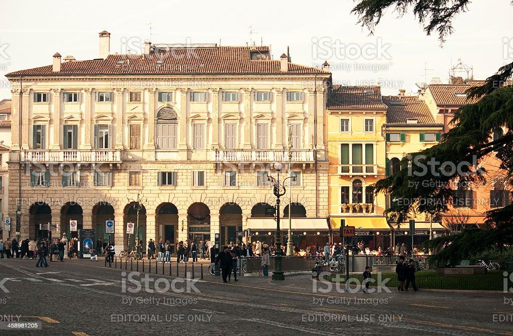 Verona, the city of eternal love royalty-free stock photo