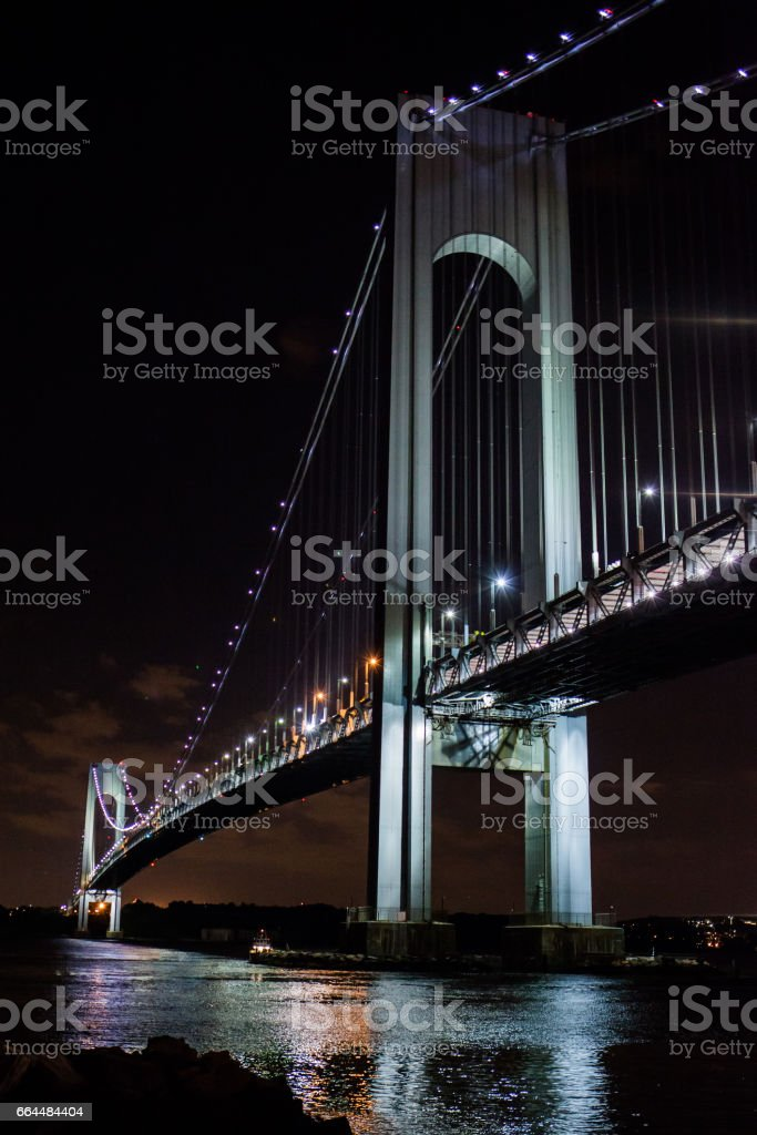 Verrazano bridge stock photo