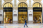 Versace boutique in Milan