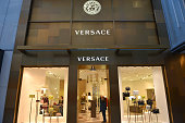 Versace boutique on the Canton Road, Tsim Sha Tsui